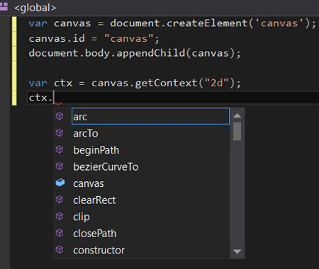 Visual Studio IntelliSense Canvas Context Detection Problem - Solution 2