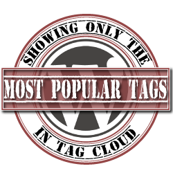 wordpress-showing-most-popular-tags-in-tag-cloud