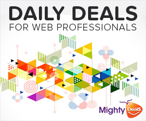 Daily Deals for Web Designers