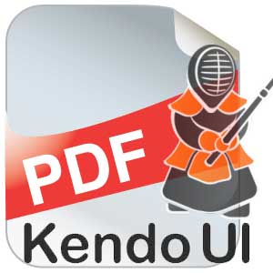 Telerik-Kendo-UI : How to force exported PDF to open in a