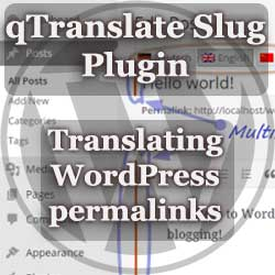 WordPress qTranslate Slug Plugin - translating URL permalinks