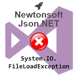 Visual Studio - Json.NET Exception - Could not load assembly